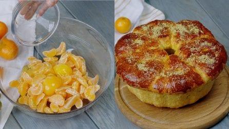 Ciambella alle clementine: il trucco per averla soffice e buonissima!