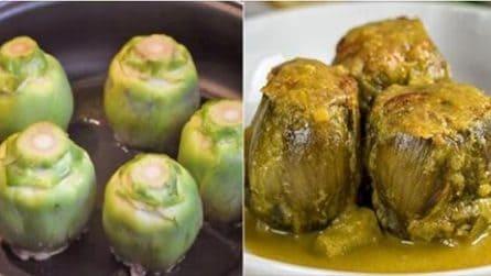 Carciofi ripieni in umido: la ricetta del secondo piatto davvero saporito