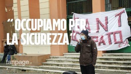 """""""Occupiamo la scuola perché vogliamo sicurezza"""": dentro la protesta degli studenti del Kant"""