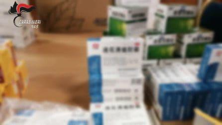 Vendita illegale di farmaci per Covid: centinaia di confezioni sequestrate dai Nas di Roma