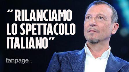 """Sanremo 2021, Amadeus tra ospiti e innovazione: """"Il Festival rilanciarà un settore in crisi"""""""