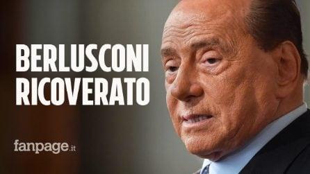 """Berlusconi ricoverato a Monaco per problemi cardiaci, Zangrillo: """"Non è prudente portarlo in Italia"""""""