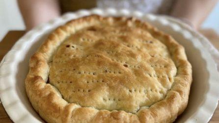 Torta rustica con scarole e olive: la ricetta che non delude mai