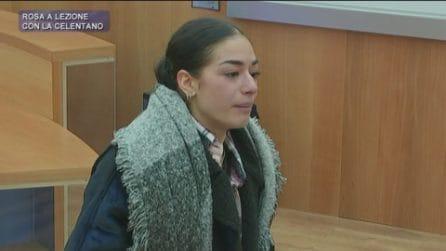 Amici - Rosa piange dopo i rimproveri di Alessandra Celentano