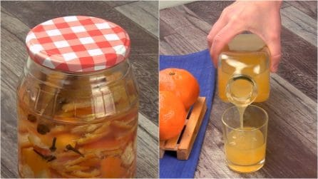 Tangerine liqueur: how to make it in very few steps!