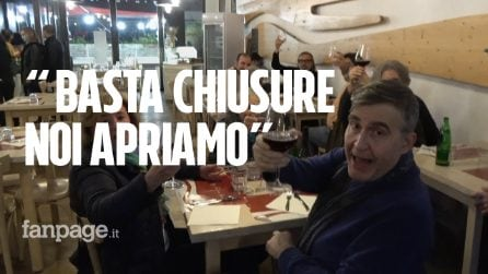 """Anche a Roma ristoratori violano le regole e aprono a cena: """"Non siamo noi gli untori d'Italia"""""""