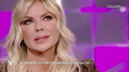 """Verissimo - Matilde Brandi: """"Marco mi ha lasciato dopo 17 anni"""""""