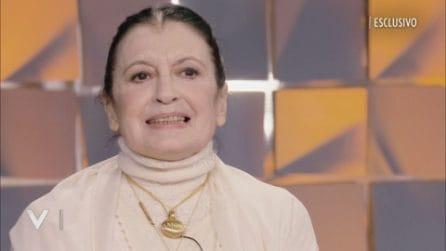 Verissimo - Carla Fracci su Virginia Raffaele