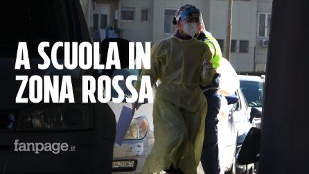 Sicilia zona rossa, caos tamponi per alunni e prof: code chilometriche e confusione