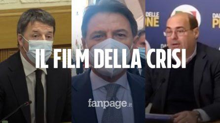 Dallo strappo di Renzi alla caccia ai responsabili: il videoracconto della crisi di governo