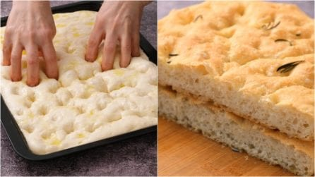 Focaccia bread: fluffy and really easy to make!
