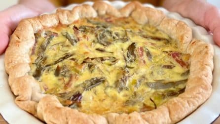 Torta salata con carciofi e prosciutto crudo: la ricetta rustica da provare