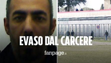 Detenuto evaso da Rebibbia: chi è Manolo Gambini, l'uomo doveva scontare ancora 6 anni di carcere
