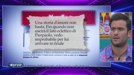 Le dichiarazioni di Giulio Pretelli disturbano il fratello Pierpaolo