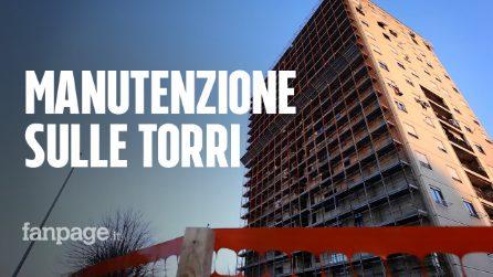"""Tor Bella Monaca: inizia la riqualificazione delle torri. """"Era ora dopo anni di abbandono"""""""