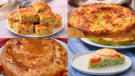 4 ricette gustose e saporite per preparare una torta salata perfetta per la cena!