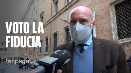 """Gregorio De Falco: """"Voto fiducia a Conte, ho contrattato solo su salute italiani"""""""