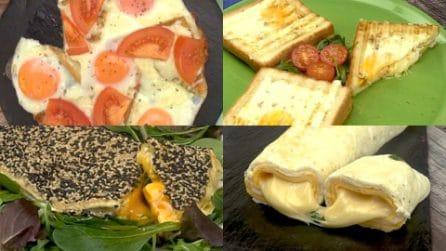 4 Idee sfiziose e originali con le uova da gustare a cena o a pranzo!