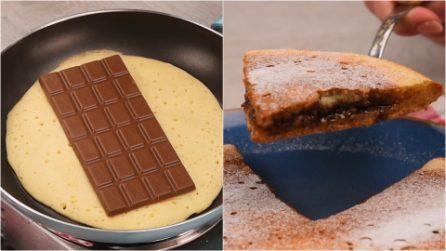 Pancake gigante farcito: goloso e facilissimo da preparare!