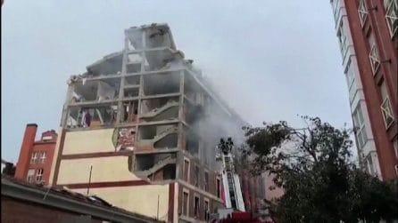 Madrid, esplode edificio: almeno 3 morti. Forse fuga di gas