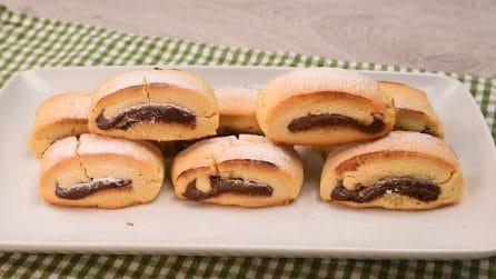 Biscotti con cuore di cioccolato: buonissimi e veloci da preparare!
