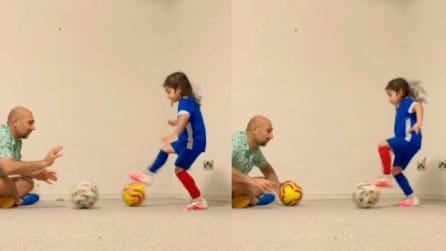 Abilità, palleggio e rapidità: il bambino di 6 anni elogiato anche da Messi