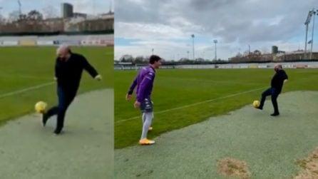 """Un nuovo """"calciatore"""" per la Fiorentina: show del presidente Commisso"""