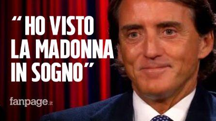 """Roberto Mancini e la rivelazione a """"Ti sento"""": """"Mi è apparsa in sogno la Madonna di Medjugorie"""""""