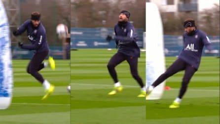 Neymar et voilà: che magia in allenamento