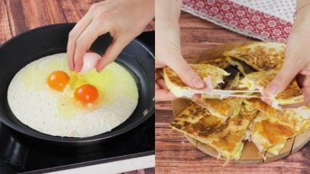 Omelette tortilla: a quick and cheesy recipe!