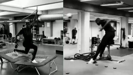 Oshimen negativo al COVID torna ad allenarsi