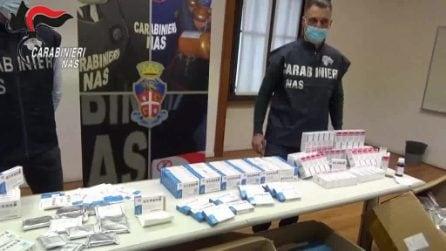 Milano, sequestrati 64.000 farmaci illegali per la cura del Covid