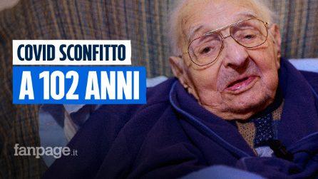 Gary, 102 anni pieni d'amore: ha superato il Covid e si è vaccinato