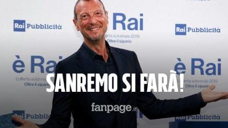 Sanremo 2021, via libera del Comitato tecnico scientifico: sì al Festival in sicurezza