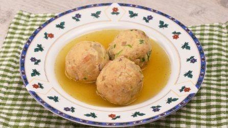 Canederli balls: the original italian recipe ready in no-time!