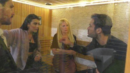 """GF Vip, Pierpaolo Pretelli litiga con Giulia Salemi: """"Quando non serve non sono il tuo uomo"""""""
