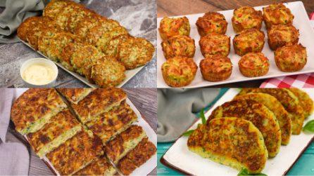 4 Idee facili e veloci con le zucchine