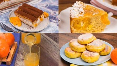5 Ricette golose e profumate a base di mandarini!