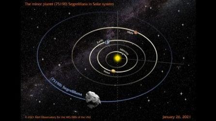 Spazio, un asteroide dedicato a Liliana Segre
