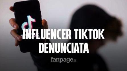 Influencer TikTok denunciata per istigazione al suicidio: nastro adesivo su bocca e naso in un video