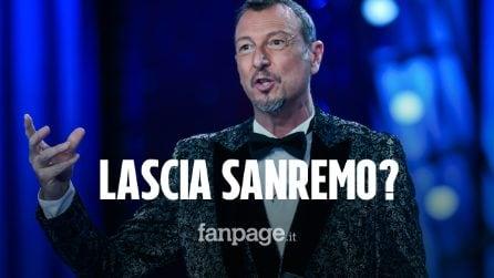 Amadeus pronto a lasciare la conduzione di Sanremo 2021
