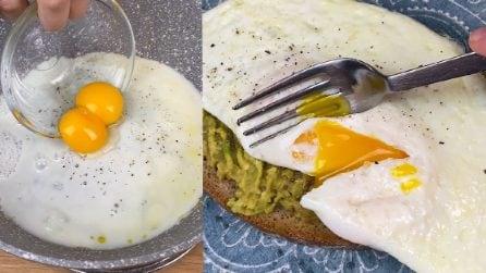 Frittatina dal cuore morbido: il trucchetto per farla in 5 minuti!
