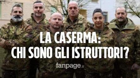 La Caserma, chi sono i 5 istruttori professionisti del nuovo docu-reality di Rai2