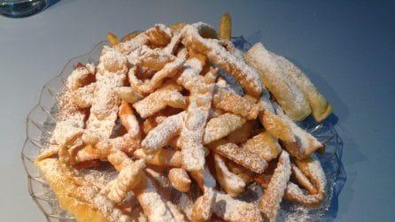 Chiacchiere sottili fatte in casa: la ricetta friabile e golosa