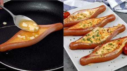 Hot dog eggs: a simple and delicious idea!
