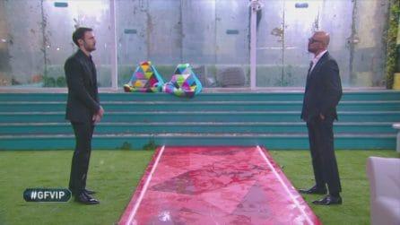 Grande Fratello VIP - L'incontro tra Andrea e suo padre Walter Zenga
