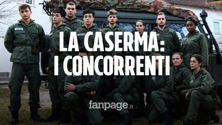 La Caserma, nomi e foto dei ragazzi protagonisti al docu-reality di Rai 2