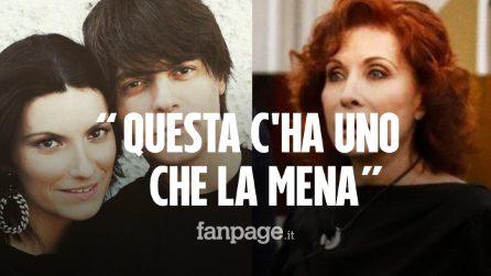 """Alda D'Eusanio espulsa dal GF Vip dopo le frasi su Laura Pausini: """"Questa c'ha uno che la mena"""""""