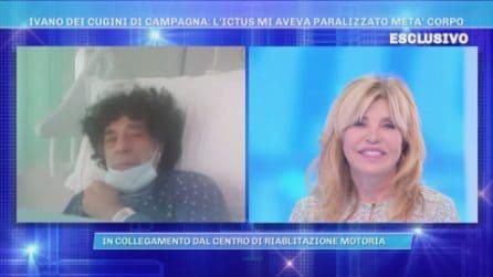 """Ivano dei Cugini di Campagna: """"Ho avuto un ictus"""""""