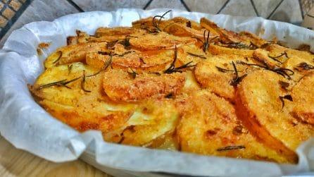 Patate saporite al forno: la ricetta per un contorno ricco e gustoso